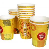 Custom printed paper cups